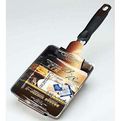 《富樂雅居》日本 パール金屬 二層加工 不沾鍋 玉子燒鍋 (13*18cm)