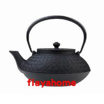 《富樂雅居》日本製 南部鐵器 及源鑄造 盛榮堂 Oigen 網代型 鐵壺 (0.86L)