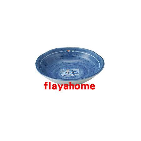 《富樂雅居》日本製 美濃燒 深海 布目 醬油碟