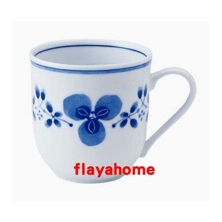 《富樂雅居》日本製 美濃燒 藍藤 輕量 馬克杯