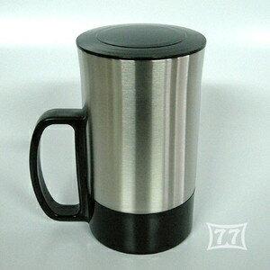 《富樂雅居》日本製 BIG77 不鏽鋼真空保溫杯(附蓋)/450C.C