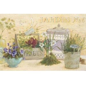 《富樂雅居》美國Cypress吸水止滑地墊-安吉拉的古典花園