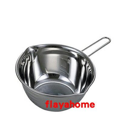 《富樂雅居》日本製 貝印 KAI 不銹鋼 附手把 料理盆 調理盆 ( 13cm )