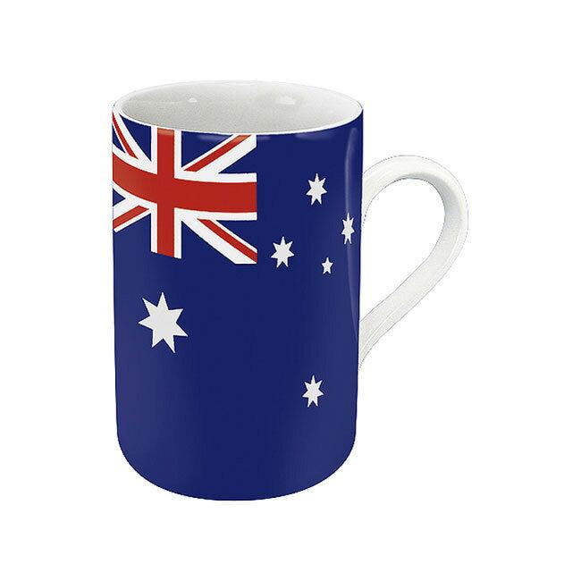 《富樂雅居》德國Konitz馬克杯-世界國旗 澳大利亞國旗杯