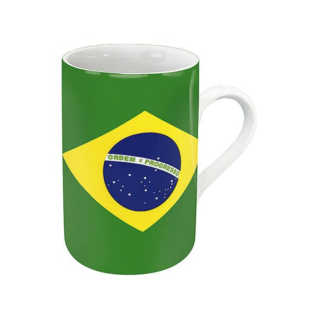 《富樂雅居》德國Konitz馬克杯-世界國旗 巴西國旗杯