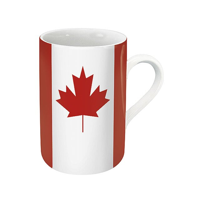 《富樂雅居》德國Konitz馬克杯-世界國旗 加拿大國旗杯