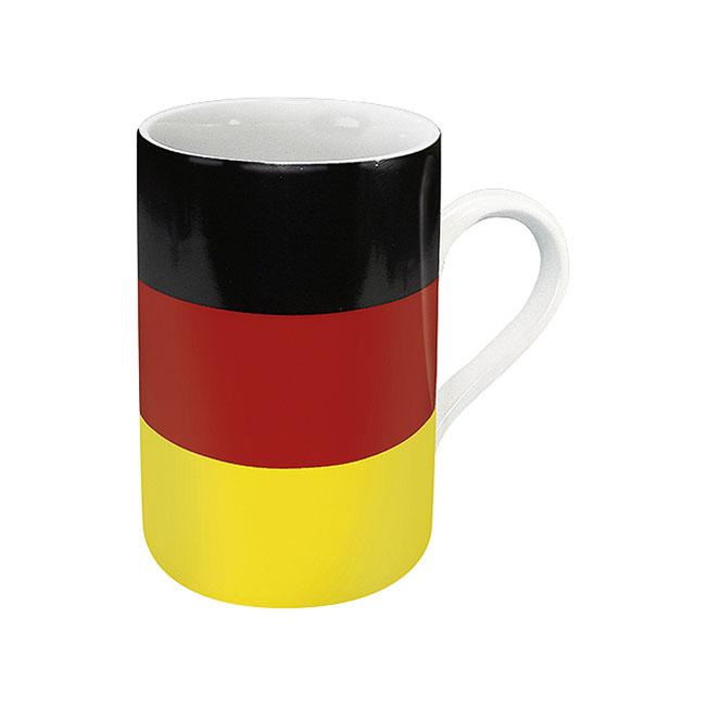 《富樂雅居》德國Konitz馬克杯-世界國旗 德國國旗杯