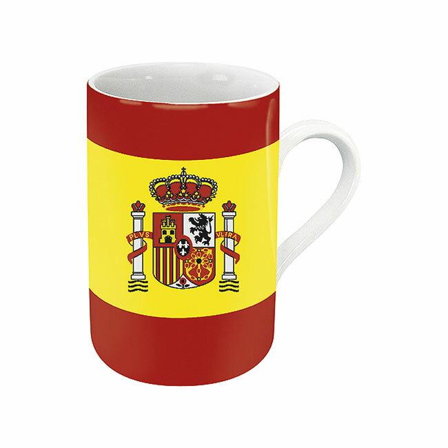 《富樂雅居》德國Konitz馬克杯-世界國旗 西班牙國旗杯