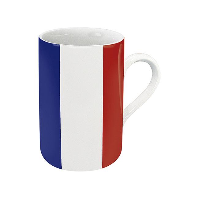 《富樂雅居》德國Konitz馬克杯-世界國旗 法國國旗杯