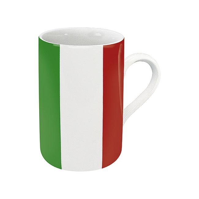《富樂雅居》德國Konitz馬克杯-世界國旗 義大利國旗杯