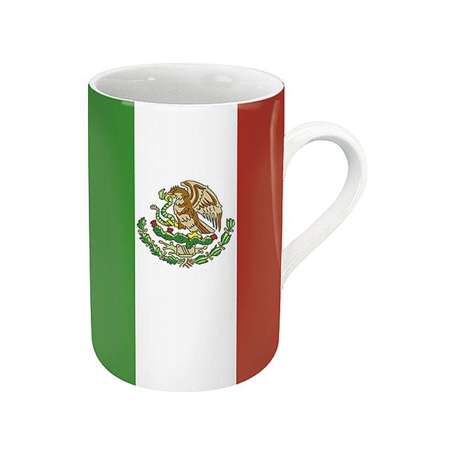 《富樂雅居》德國Konitz馬克杯-世界國旗 墨西哥國旗杯