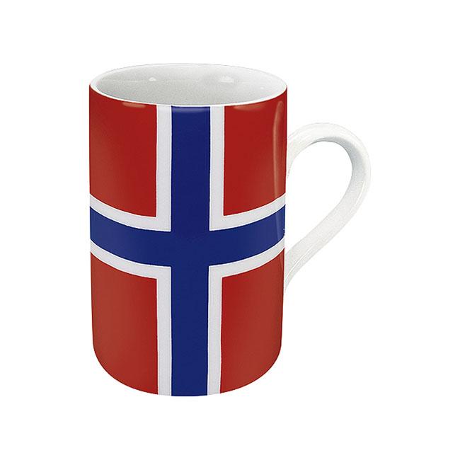 《富樂雅居》德國Konitz馬克杯-世界國旗 挪威國旗杯