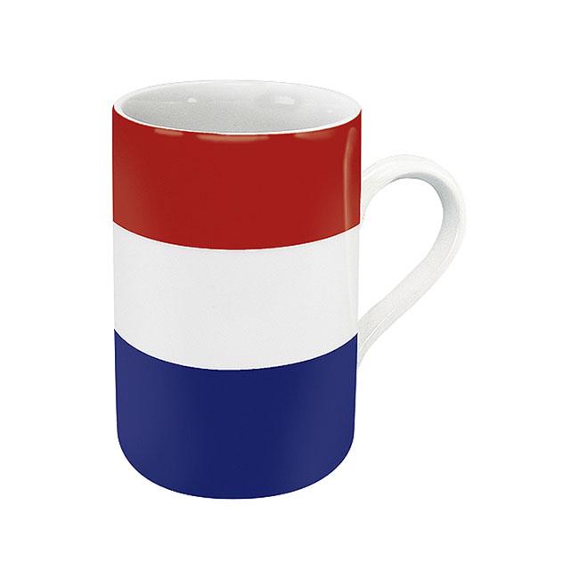 《富樂雅居》德國Konitz馬克杯-世界國旗 荷蘭國旗杯