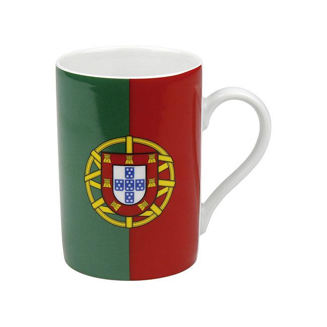 《富樂雅居》德國Konitz馬克杯-世界國旗 葡萄牙國旗杯