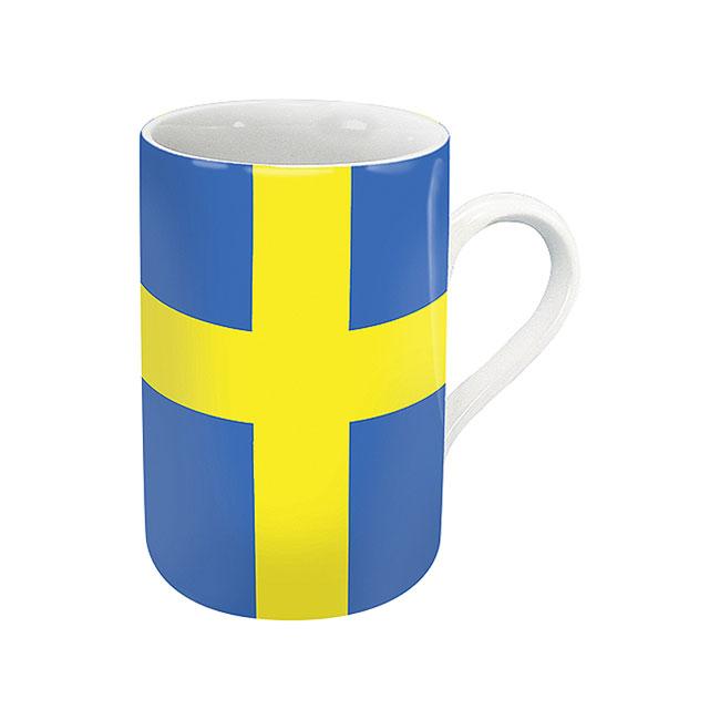 《富樂雅居》德國Konitz馬克杯-世界國旗 瑞典國旗杯