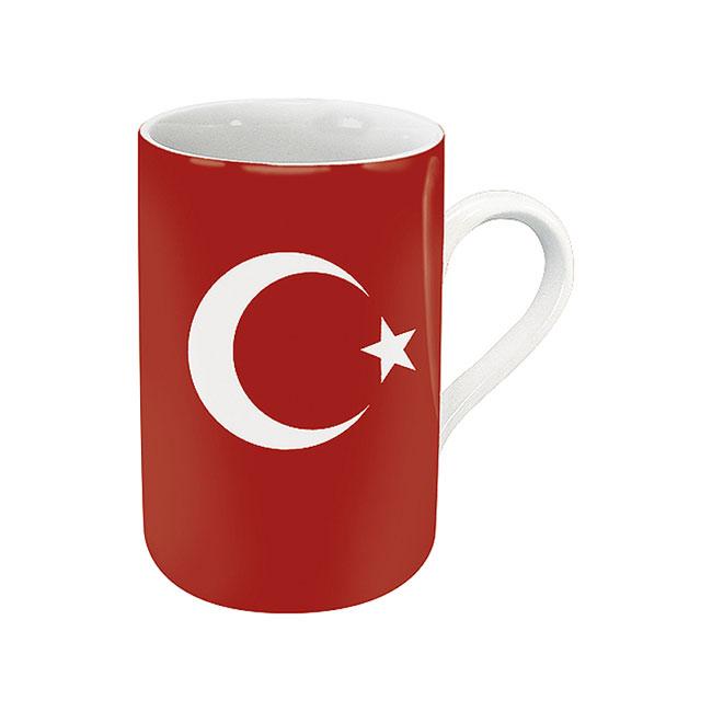《富樂雅居》德國Konitz馬克杯-世界國旗 土耳其國旗杯