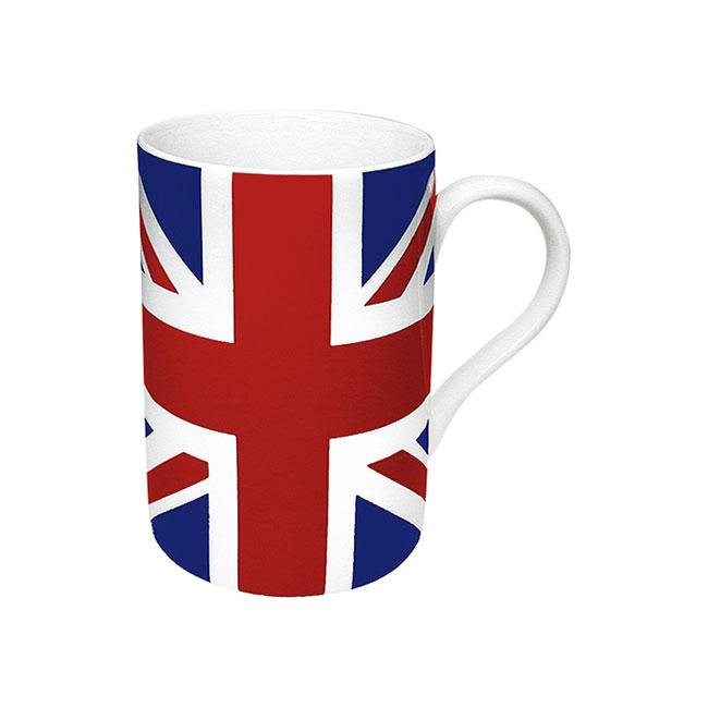 《富樂雅居》德國Konitz馬克杯-世界國旗 英國國旗杯