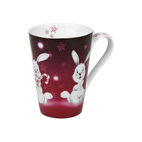 《富樂雅居》德國Konitz馬克杯-聖誕快樂 雪花兔