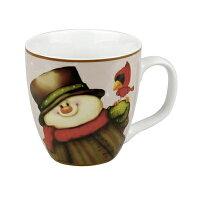 送家人聖誕交換禮物推薦聖誕禮物保溫杯/馬克杯到《富樂雅居》德國Konitz馬克杯-聖誕快樂 小雪人笑了 胖胖杯就在FLAYA HOME推薦送家人聖誕交換禮物