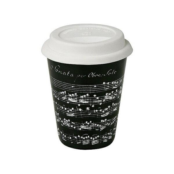 《富樂雅居》To-Go 外帶杯系列~德國Konitz馬克杯 - 黑色樂章 (380ml)