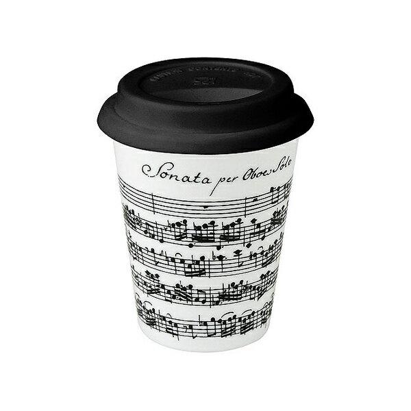 《富樂雅居》To-Go 外帶杯系列~德國Konitz馬克杯 - 白色樂章 (380ml)