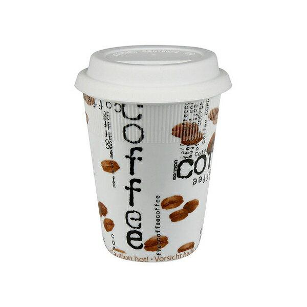 《富樂雅居》To-Go 外帶杯系列~ 德國Konitz馬克杯 - Coffee 咖啡學園 (380ml)