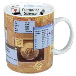 《富樂雅居》知識系列~德國Konitz 電腦科學 Computer Science 特大馬克杯