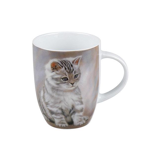 《富樂雅居》可愛動物系列~德國Konitz馬克杯-虎紋貓咪