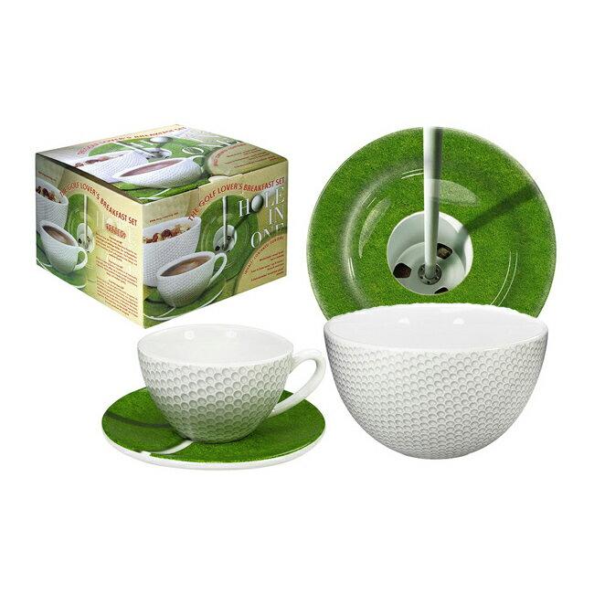 《富樂雅居》運動系列~德國Konitz馬克杯-運動系列杯盤組/高爾夫球