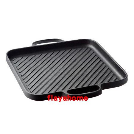 《富樂雅居》日本製 南部鐵器 及源鑄造 盛榮堂 Oigen 鑄鐵鍋 橫紋燒肉 鐵板 鐵烤盤