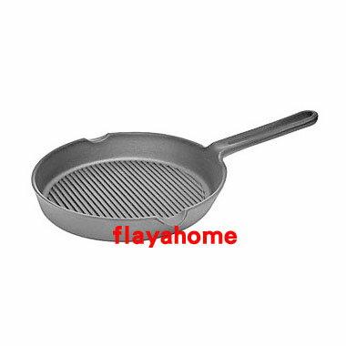 《富樂雅居》日本製 南部鐵器 及源鑄造 盛榮堂 Oigen 鑄鐵鍋 烤肉片手鐵鍋 20.5cm