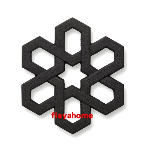 《富樂雅居》日本製 南部鐵器 及源鑄造 盛榮堂 Oigen 雪格子 隔熱墊 防熱墊 鍋墊
