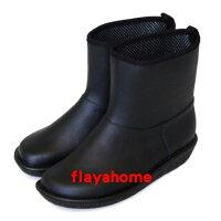 雨靴、雨鞋推薦到《富樂雅居》日本製 雨鞋 / 厚底素黑就在FLAYA HOME推薦雨靴、雨鞋