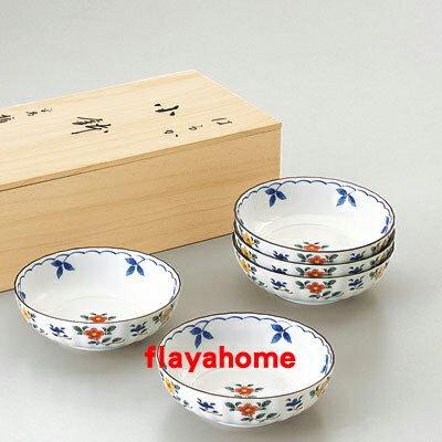 《富樂雅居》日本製 NARUMI 鳴海製陶 はるか 五入 小缽組 ( 5入 )