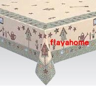 鄉村風zakka雜貨到《富樂雅居》日本製 雅緻桌巾/鄉村風情 120*150cm