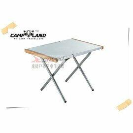 【速捷戶外露營】CAMP LAND RV-ST800 不鏽鋼便利桌 邊桌 摺疊桌 小茶几 休閒桌 小折桌