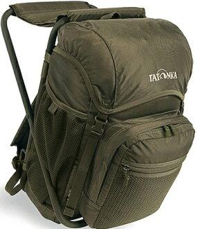 Tatonka 椅子包/折椅背包/折凳背包 Fischerstuhl 20升 TTK2295-331橄欖綠