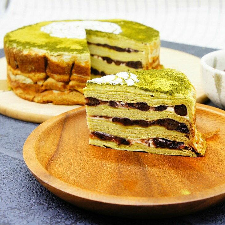 【蕉研食嚥室】宇治金時千層蛋糕6吋甜點蛋糕