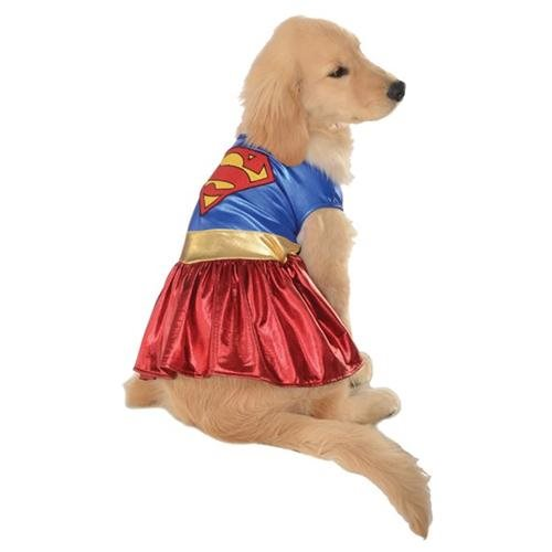 Rubies Costume DC Heroes and Villains Collection Pet Costume, X-Large, Supergirl 0