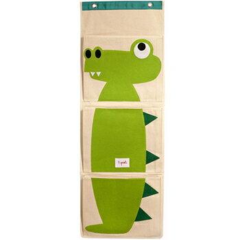 加拿大 3 Sprouts 壁掛式收納袋-小鱷魚★衛立兒生活館★