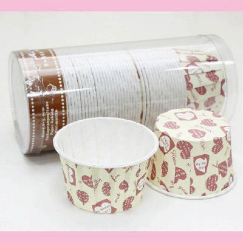 【嚴選SHOP】 50入 捲口杯(大) 【F5039】堅口杯 蛋糕模 海綿蛋糕 耐烤紙杯