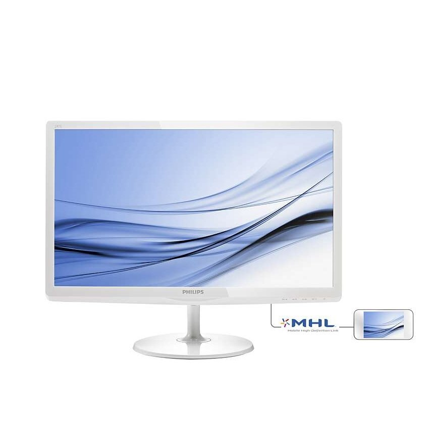 【新風尚潮流】PHILIPS飛利浦 電腦液晶顯示器 螢幕 E系列 24吋型 VGA HDMI MHL 247E6EDAW