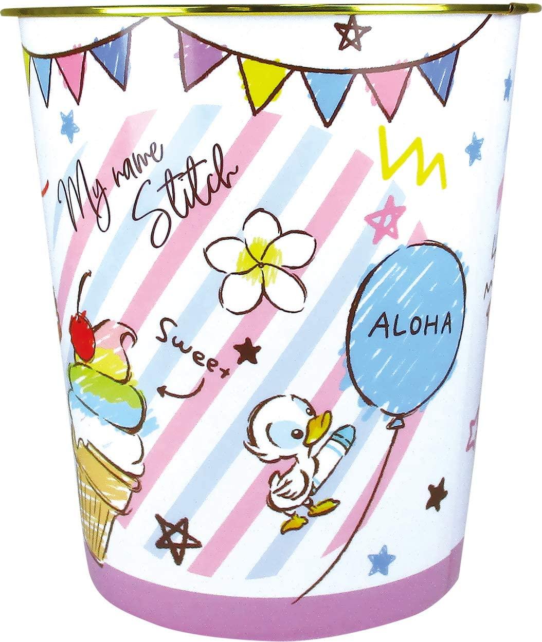 星際寶貝 史迪奇stitch 塑膠垃圾桶,垃圾筒/雜物桶/水桶/分類桶/資源回收桶/廚餘桶,X射線【C105083】