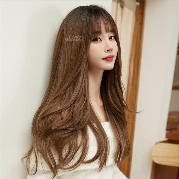 新款長款假髮 自然 耐熱 時尚微捲 超美中分 假髮【MA558】☆雙兒網☆
