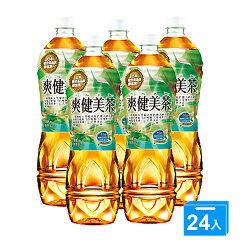 可口可樂爽健美茶535ml*24入【愛買】