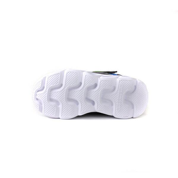 SKECHERS  LIGHTS 運動鞋 電燈鞋 童鞋 灰色 90512LSLBL no982 9