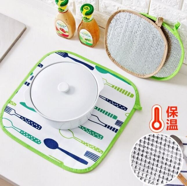 【省錢博士】鋁箔保溫隔熱墊餐桌墊