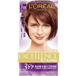 巴黎萊雅優媚霜三重護髮雙管染髮霜-淺紅銅棕【愛買】