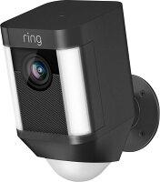 Ring Spotlight Cam Wired HD Security Camera w/Spotlights Refurb Deals