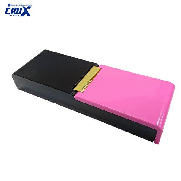 金邊桃款【日本正版】雙色翻蓋式筆盒鉛筆盒直立式筆盒日本製-039871